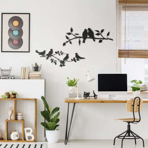 Aves - Metal Wall Art - Northshire Wall Art