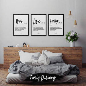 Family - Poster Set - Northshire Wall Art