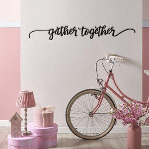 Gather Together - Metal Wall Art - Northshire Wall Art