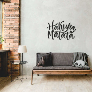 Hakuna Matata - Metal Wall Art - Northshire Wall Art