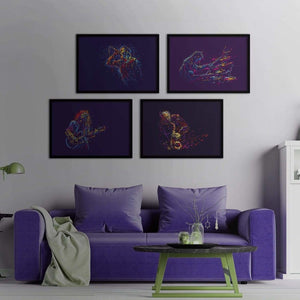 Jazz - Poster Set - Northshire Wall Art