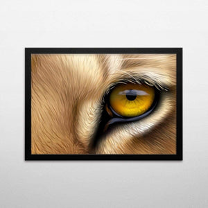 Lion Eyes - Poster Set - Northshire Wall Art