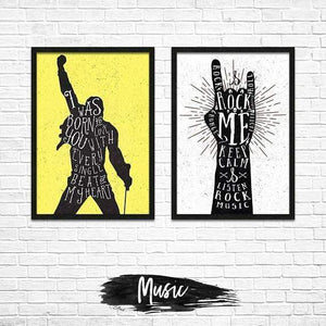 Music - Poster Set - Northshire Wall Art