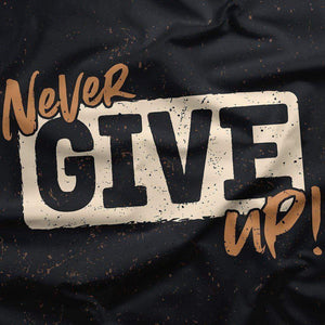 Never Give Up - Wall Tapestry - Northshire Wall Art