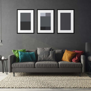Shades of Grey - Poster Set - Northshire Wall Art