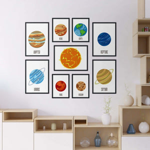 Solar System Set - Northshire Wall Art