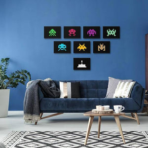 Space Invaders - Poster Set - Northshire Wall Art