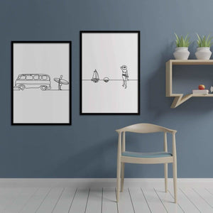 Summer - Poster Set - Northshire Wall Art