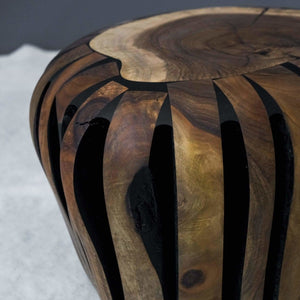 Unique Olive Wood, Amorphous Coffee Table - Northshire Wall Art