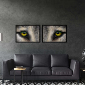 Wolf Eyes - Poster Set - Northshire Wall Art