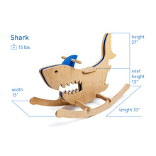 Load image into Gallery viewer, Rocking Monsters: Shark