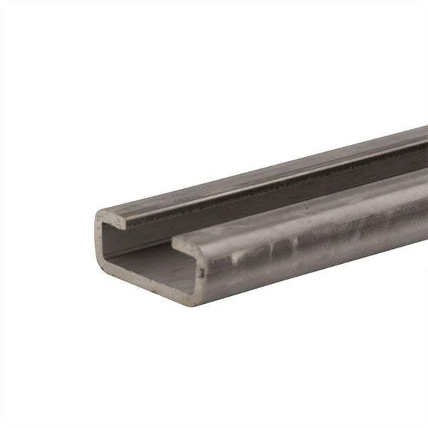 28mm x 11mm x 2 Meter Long 316 Stainless Steel DIN 3015 Mounting Rail