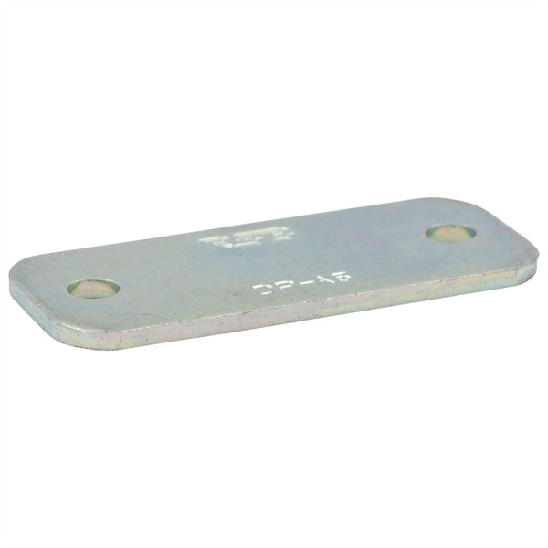 Light Series Group 4 Zinc Plated Cover Plate