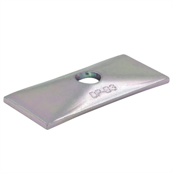 Twin Series Group 4 Zinc Plated Cover Plate