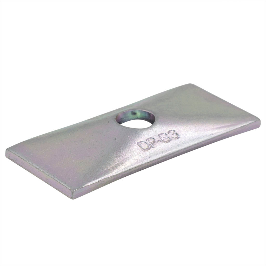 Twin Series Group 3 Zinc Plated Cover Plate