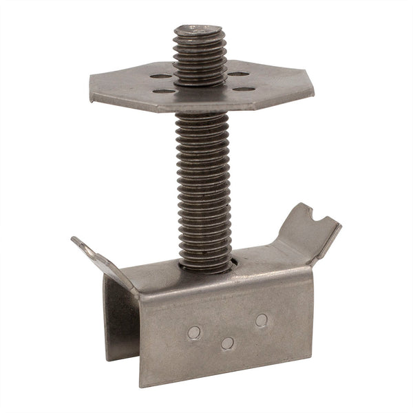 "1/2"" x 3"" 316 Stainless Steel Grating Clip"