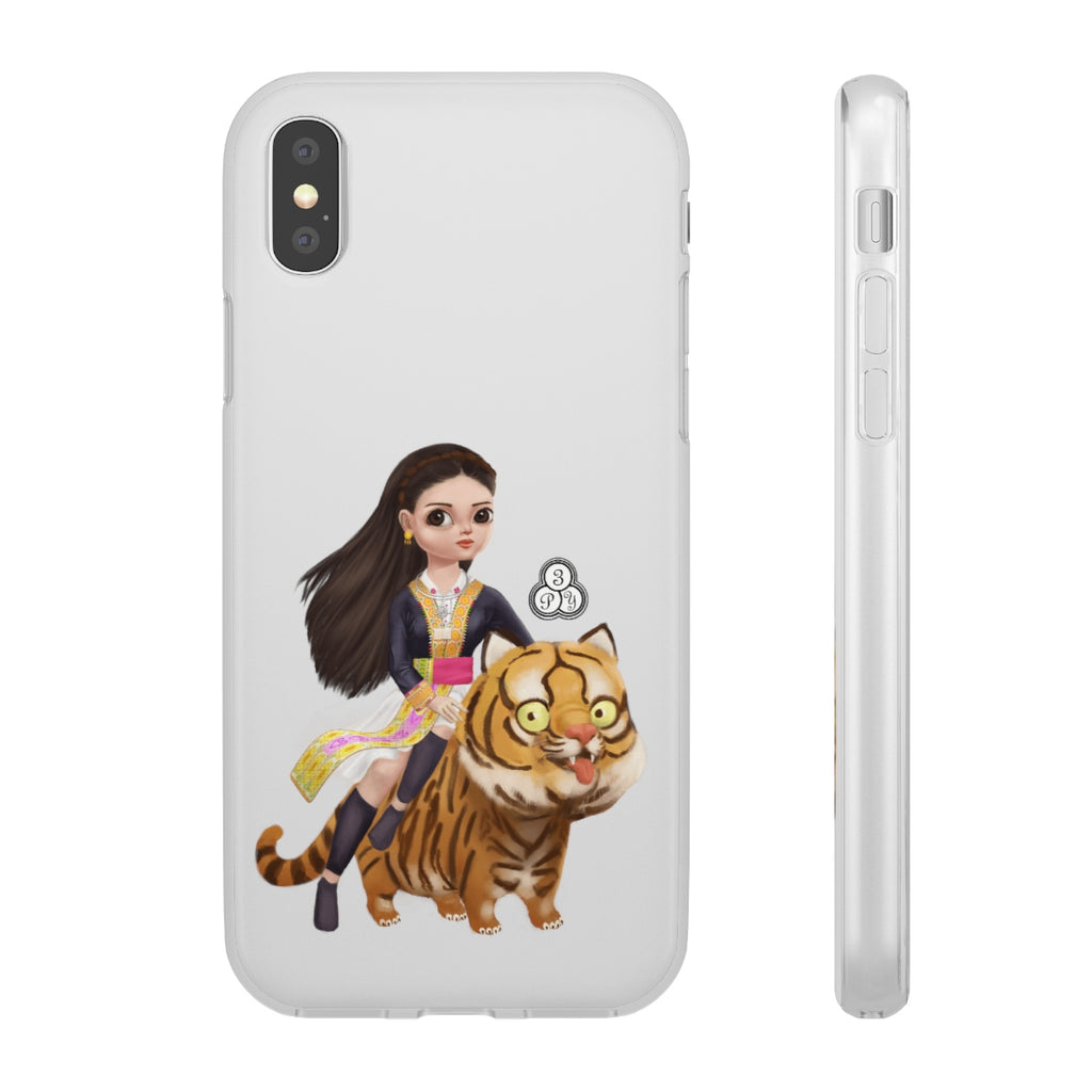 Ntxawm & Tsov (Yer & the Tiger) iPhone Case