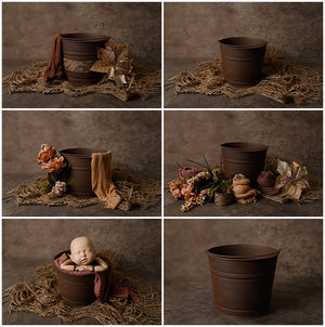 Baby Bucket Kit Sets: Warm Cocoa