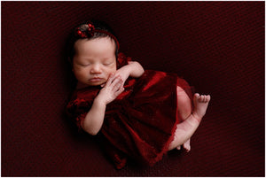 Gianna Newborn Baby Dress