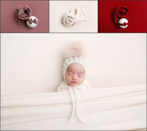 The Amore Collection Beanbag + wrap set + headband