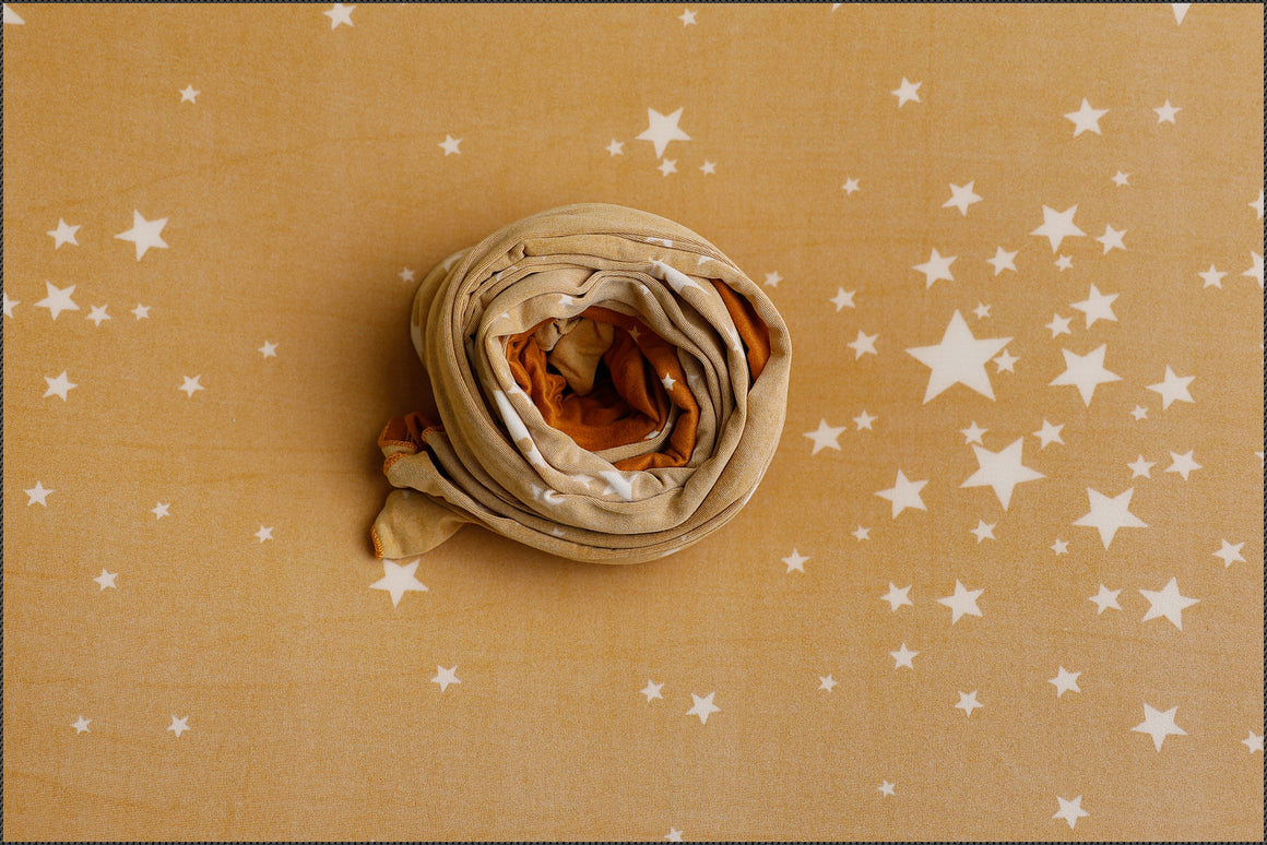 Evening Stars Reversible Backdrop and wrap set