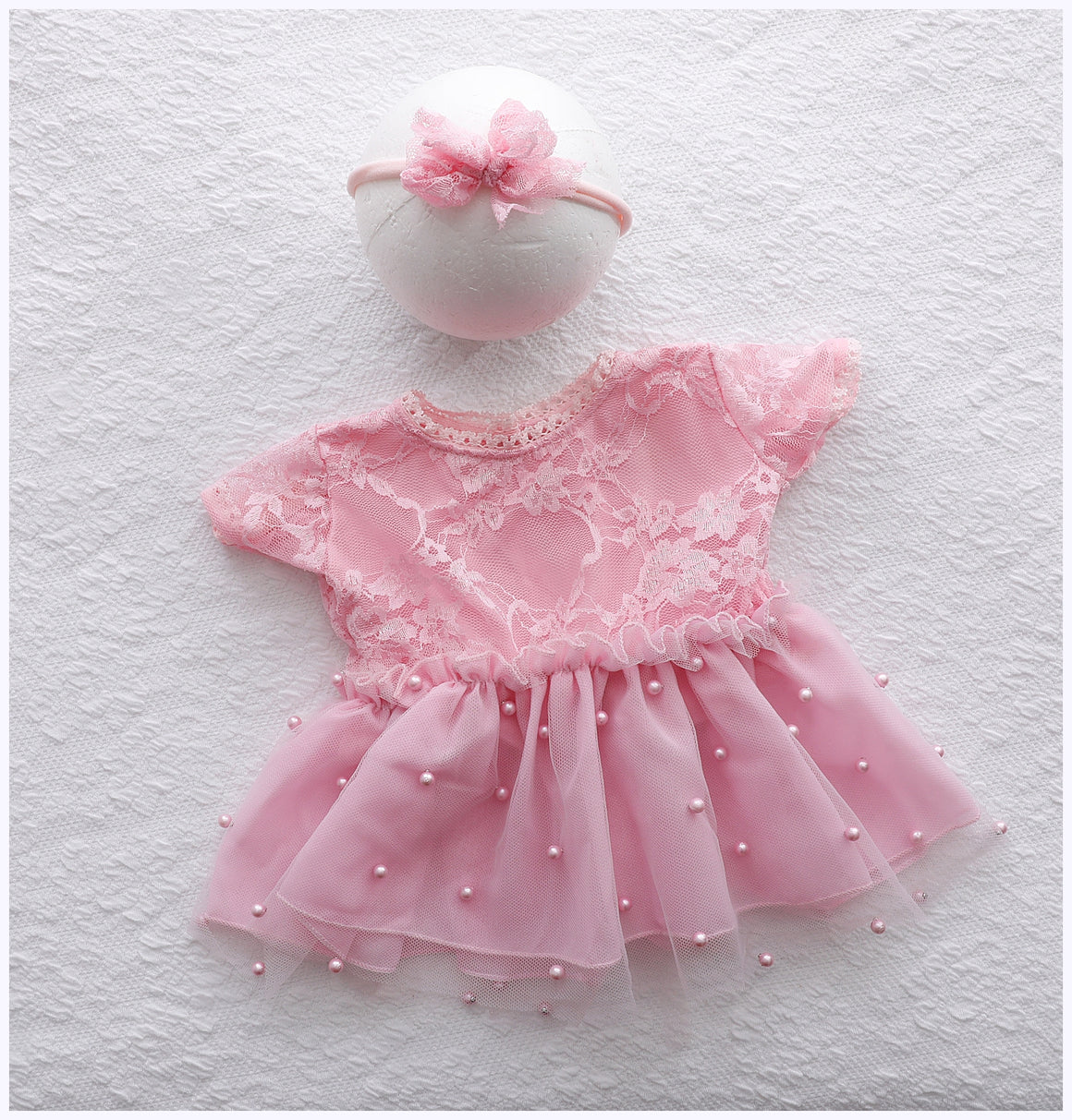 Lisa Newborn Baby Dress