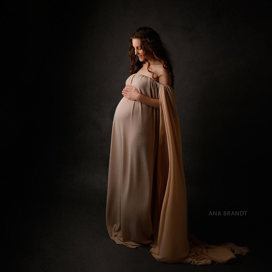 Avalon Motherhood Gown • GODDESS MATERNITY • MATERNITY PHOTOS • BABY SHOWER GOWN • PREGNANCY CHIC