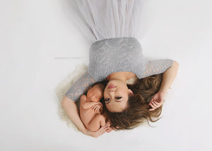 New Mama Tulle Gown