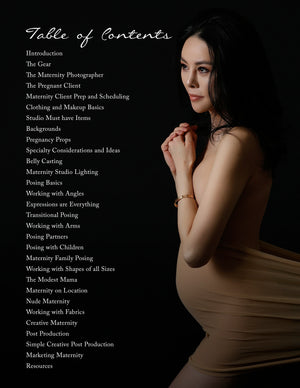 Mastering Maternity Photography Book