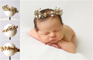 Bronze Baby Crown