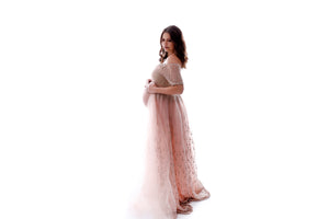 The Pristina Maternity Luxury Gown