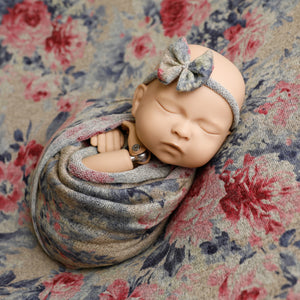 Florina Beanbag + wrap set + headband