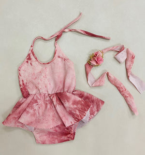 Heather Newborn Romper