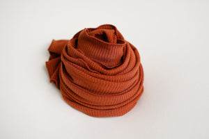 Burnt Orange Baby Wrap