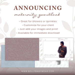 Maternity Guestbooks