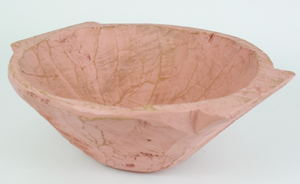 Chubster Round Rustic Wooden Dough Bowl