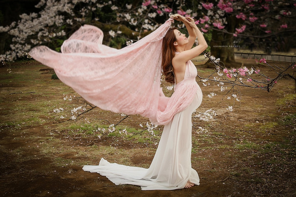 Hot Mama Split Gown•Maternity•Photography•Baby Shower•Pregnancy Chic ...