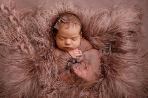 Dusty Rose Baby Wrap