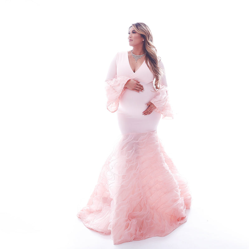 A New Blushing Mama Gown