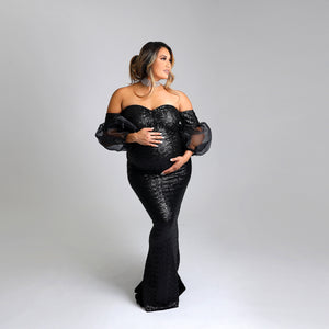 The Beauty Shimmer Mama Gown