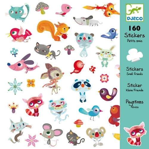 Sticker Little friends - Djeco