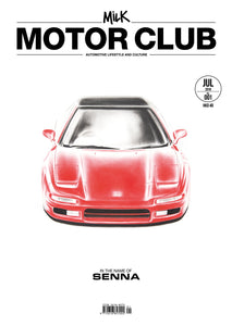 001 Milk Motor Club — In the name of Senna