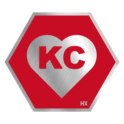 Heart KC (Red)
