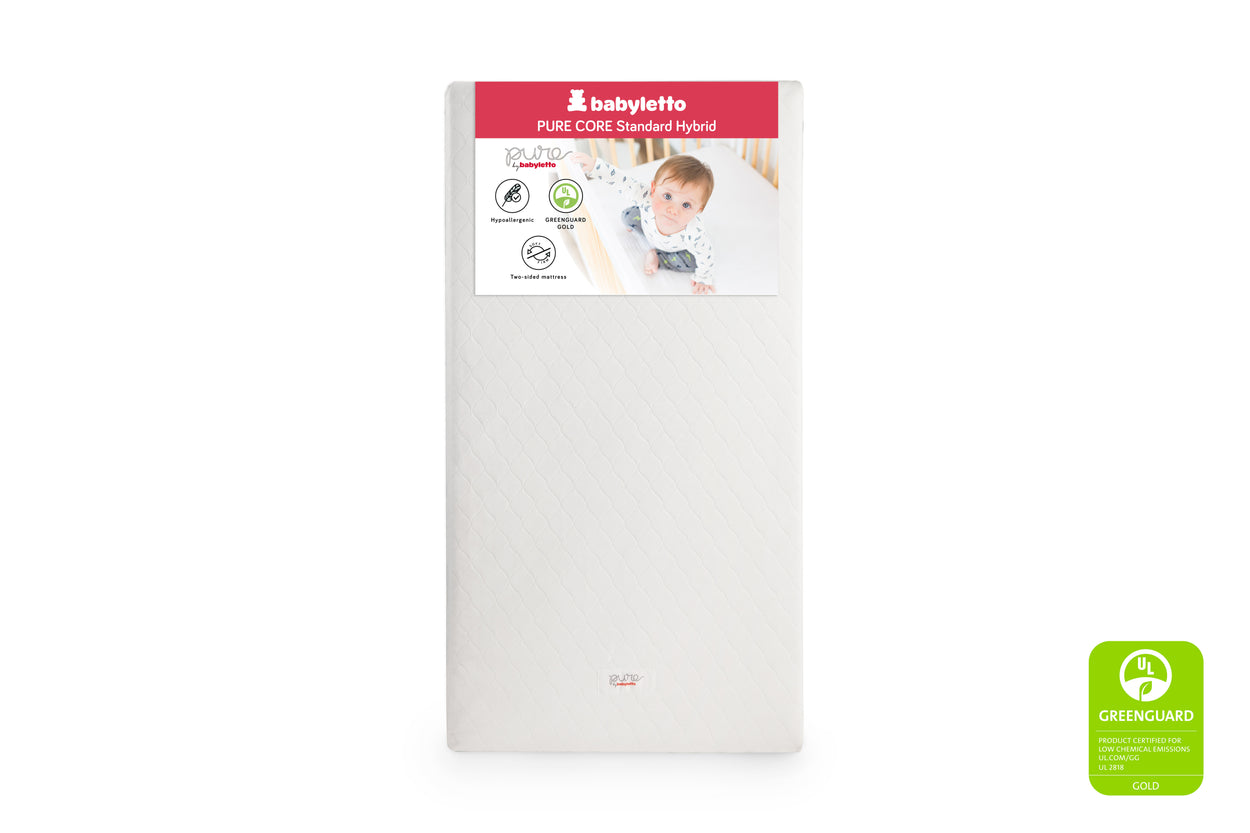 M5321C,Pure Core Non-Toxic Crib Mattress with Hybrid Cover