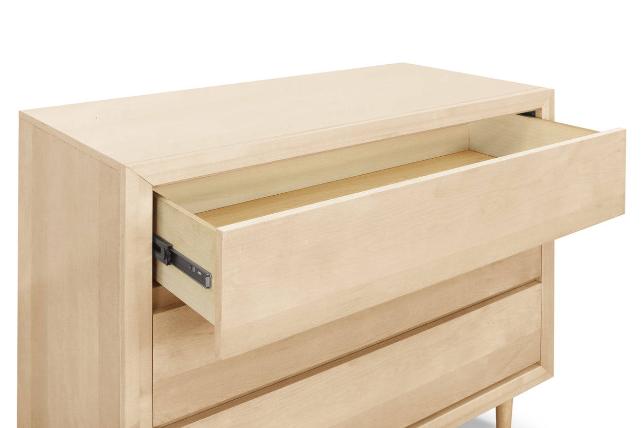 UB0320BR,Nifty 3-Drawer Dresser in Natural Birch