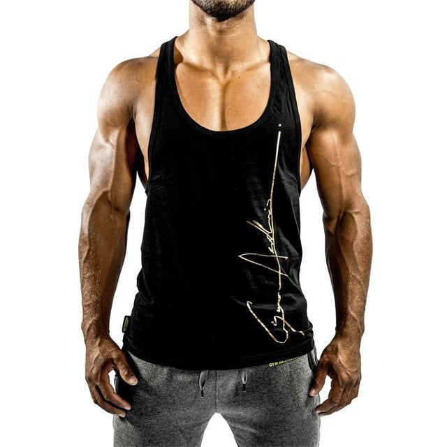 27936a4e995e4 Fitness Men Bodybuilding Workout Tank Tops – Ayaan Fashion Fame