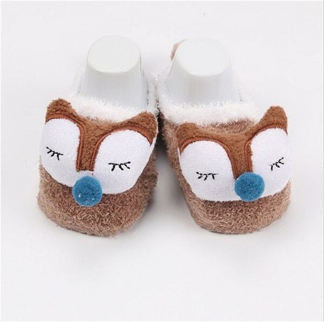 Newborn Fleece Boots