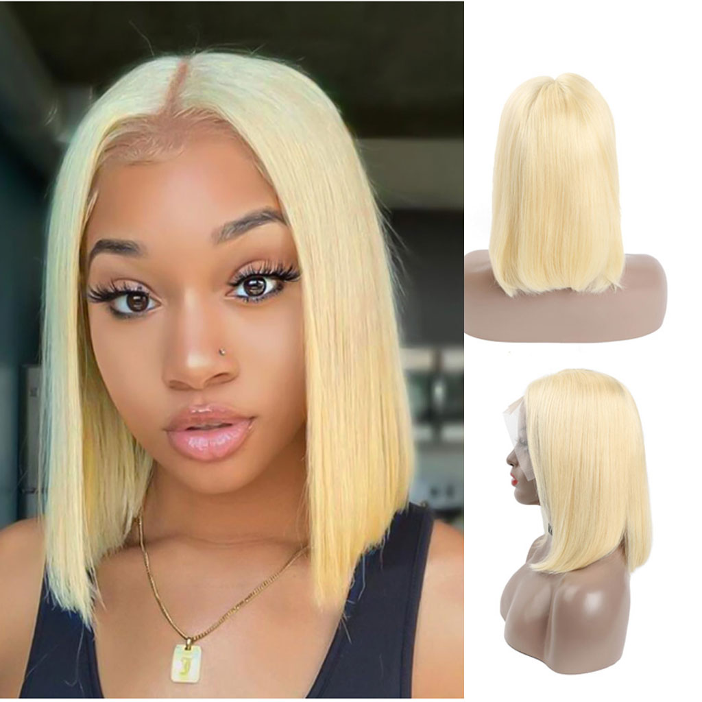 Blonde-Lace-Front-Wig-613-Bob-Wig-Transparent-Lace-Wig
