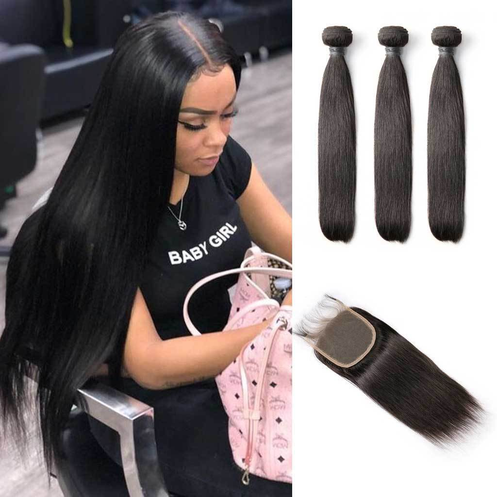 Bombtress-Brazilian-straight-virgin-hair-bundles-with-closure-hairstyles-3-bundles-with-lace-closure-deal