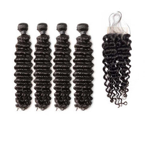 Brazilian-curly-virgin-hair-deep-wave-4x4-lace-closure-with-4-human-hair-bundles